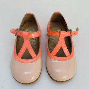 Schoentjes met gesp pink Gallucci maat 22