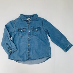 Denim hemdje Zara 2-3jr / 98