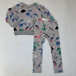 Pyjama exotic animals H&M 2-4jr / 98/104
