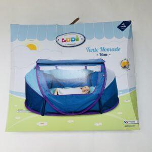 Babytentje 'tente nomad bleue' Ludi UV50 + zakje / 111 x 73 x 45 cm