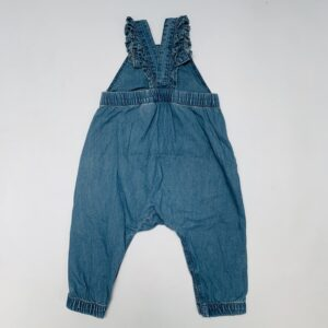 Salopet denim hearts H&M 6-9m / 74