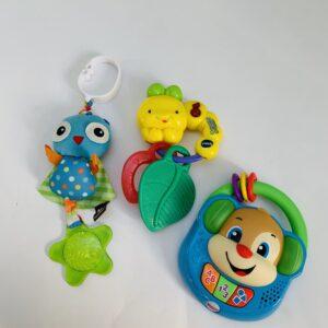 3 x babyspeelgoed Vtech / Fischer Price