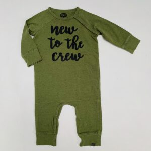 Onesie new to the crew Z8 62