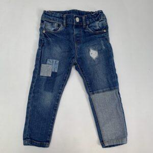 Jeansbroek patch Zara 12-18m / 86