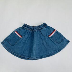 Denim rokje striped pockets JBC 104