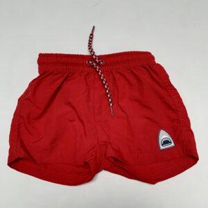 Zwemshort rood shark Zara 6-12m / 80