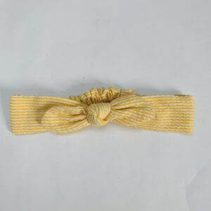 Haarband yellow stripes one size