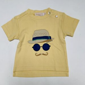 T-shirt moustache Frenchy Yummy Paris  6m