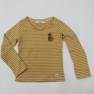 Longsleeve mustard stripes dragon Sissy-Boy 98/104