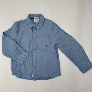 Blauw hemd Carrément Beau 4jr / 102