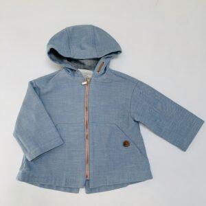 Jasje tussenseizoen blauw Zara 12-18m / 86