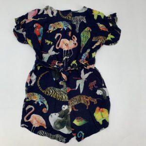 Jumpsuit exotic animals Kate Morgan studio X H&M 2-3jr / 98