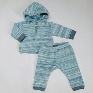 Setje fading stripes blue Kidscase 3m / 62