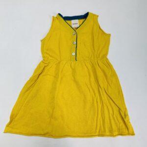 Kleedje tricot sleeveless yellow Knit Planet 2-3jr