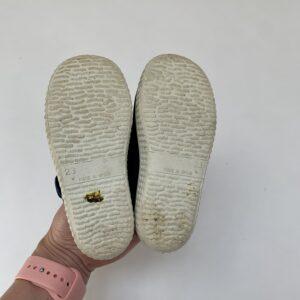 Schoenen met gesp en drukknoopje donkerblauw Cienta 23