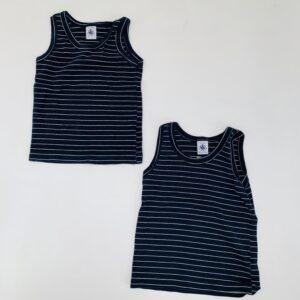2 x onderhemdje stripes Petit Bateau 4jr / 102