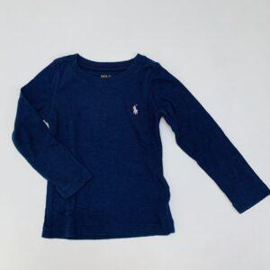 Longsleeve donkerblauw Ralph Lauren 2jr / 90
