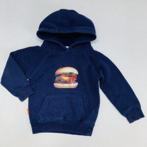 Hoodie hamburger Egomaniac 86/92