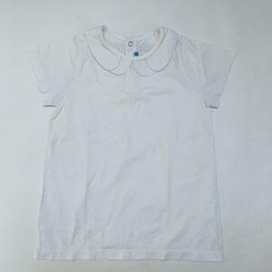 T-shirt wit met kraag Jacadi 8jr / 128