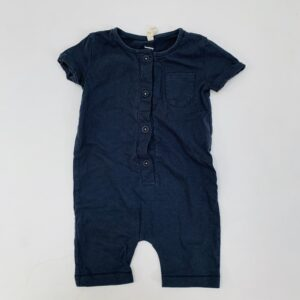 Onesie shortsleeve Gray Label 0-6m