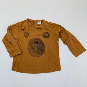 Longsleeve bear Tape à l'Oeil 23m / 86