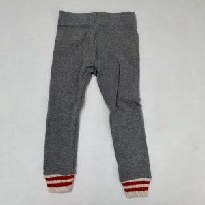 Legging sweatstyle met gestreepte afwerking Zara 5jr / 110