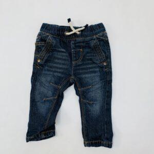 Jeansbroek met rekker Next 3-6m