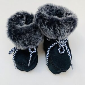 Baby lammy booties newborn
