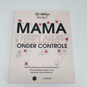 Boek mama heeft alles onder controle Lannoo
