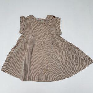 Kleedje shortsleeve glitter stripes Hilde & co 80