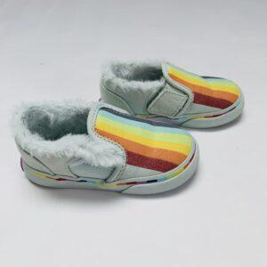 Slipon sneakers rainbow Vans maat 22