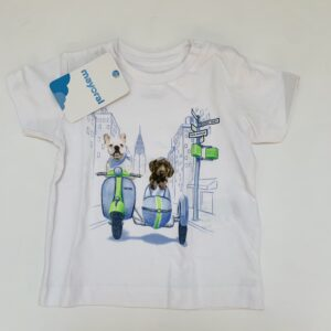 T-shirt dogs Mayoral 6m / 68
