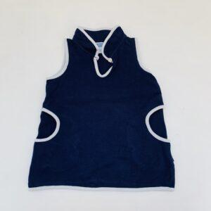 Klassiek kleedje donkerblauw Jacadi 12m / 74