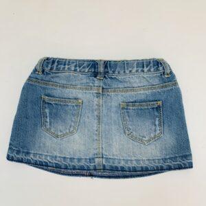 Jeansrokje patch kant Zara 12-18m / 86