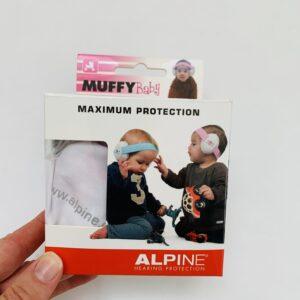 Oorbeschermers / koptelefoon roze Muffybaby