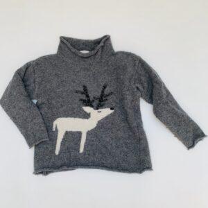 Sweater reindeer Il Gufo 5j