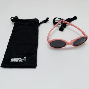 Flexibele zonnebril roze Kietla