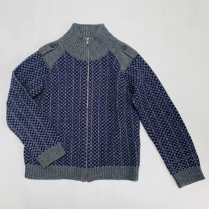 Trui met rits tricot Simple Kids 8jr