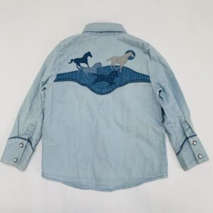 Hemd denim horses Stella Mccartney 4jr
