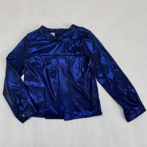 Blouse shiny blue Morley 4jr