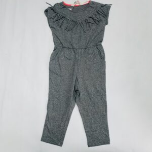 Jumpsuit frill grey H&M 1,5-2jr / 92