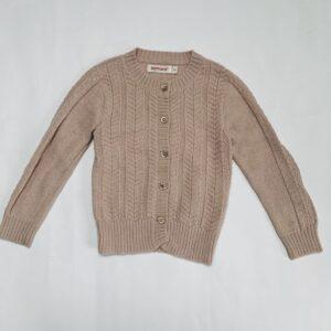 Gilet knitwear oudroze Aymara 3jr