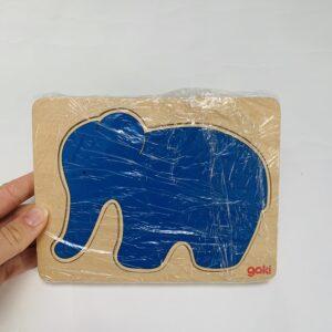 Lagenpuzzel olifant Goki