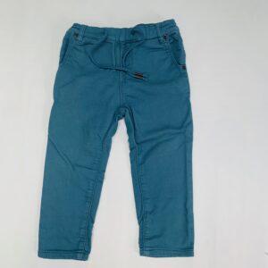 Broek touwtjes blauw Limòn 2jr