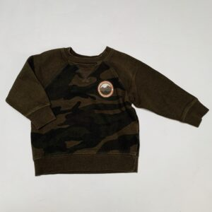 Sweater army La Redoute 92