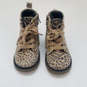Bottines leopard Pinocchio maat 22