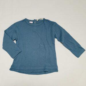 Longsleeve petrol blauw Zara 2-3jr / 98
