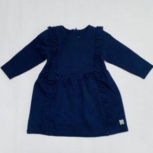 Kleedje frill donkerblauw Carrément Beau 6m / 67