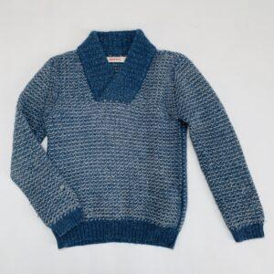 Sweater tricot blauw Aymara 8jr