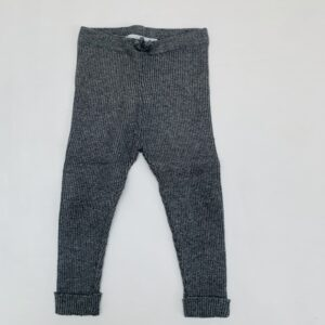 Legging geribd donkergrijs Zara 12-18m / 86